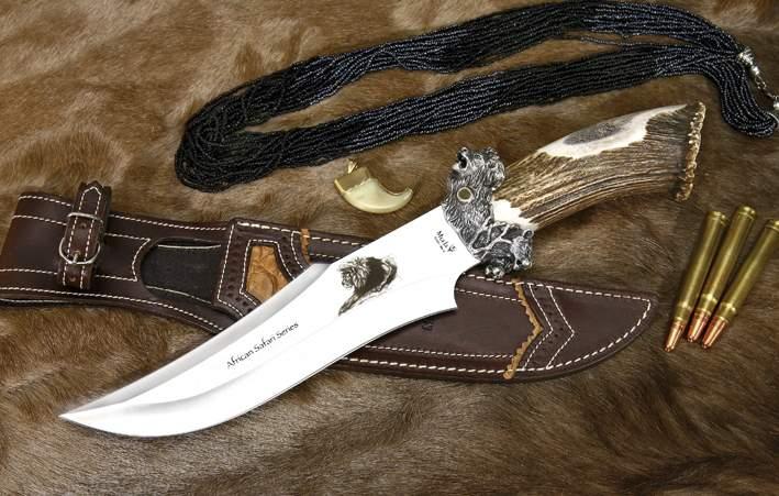 Colecci 243 N Big Five Lion Cuchillos De Caza Muela 5