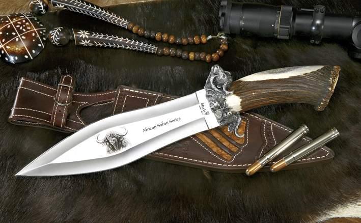Colecci n big five buffalo cuchillos de caza muela 5 for Coleccion cuchillos el mundo